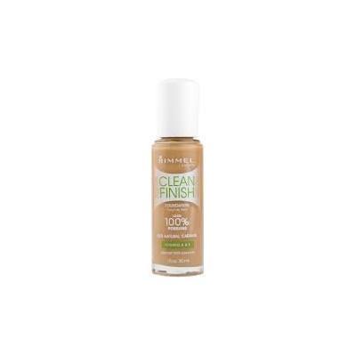 (Pack 2) Rimmel Clean Finish 100% Poreless Foundation 520 Natural Caramel