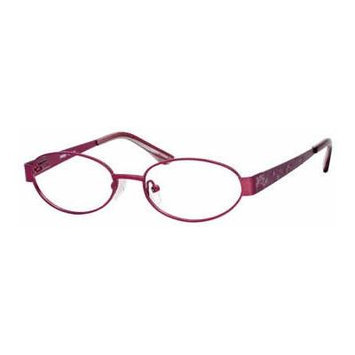 Seventeen 5353 Purple Designer Reading Glass Frames ; Demo Lens