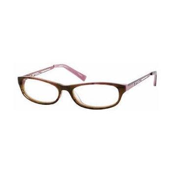 Seventeen 5358 Brown Designer Reading Glass Frames ; Demo Lens