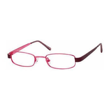 Seventeen 5339 Burgundy Designer Reading Glass Frames ; Demo Lens