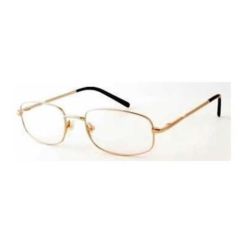 Woolrich 7872 Gold Designer Reading Glass Frames ; Demo Lens