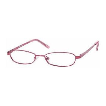Seventeen 5340 Pink Designer Reading Glass Frames ; Demo Lens