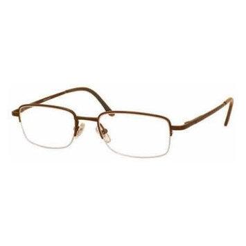 Woolrich 7875 Brown Designer Reading Glass Frames ; Demo Lens