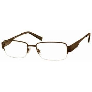 Woolrich 7833 Brown Designer Reading Glass Frames ; Demo Lens
