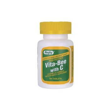 Rugby Vita-Bee with Vitamin C 100 Tabs