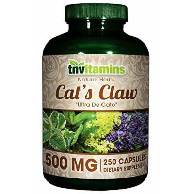 Cats Claw 500 Mg. - 250 Capsules