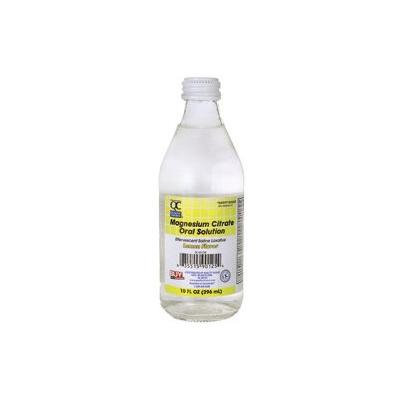 Quality Choice Magnesium Citrate Oral Solution - Lemon Flavor 10 fl oz Liquid
