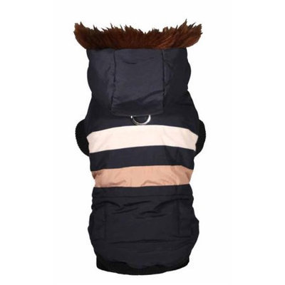 Hip Doggie Navy Urban Ski Vest, Big Dog XS