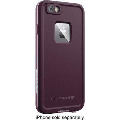 LifeProof - Fre Protective Waterproof Case for Apple iPhone 6 Plus and 6s Plus - Crushed purple