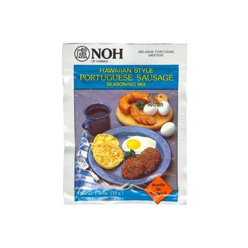 Noh Foods Of Hawaii NOH Portuguese Sausage, 1.125-Ounce Packet, (Pack of 12)