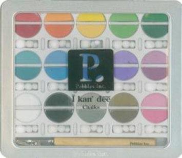 Alvin Pebbles I Kan'dee Basic Brights Chalk Set