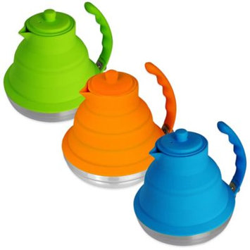 Silicone & Stainless Steel Collapsible 40 oz. Tea Kettle