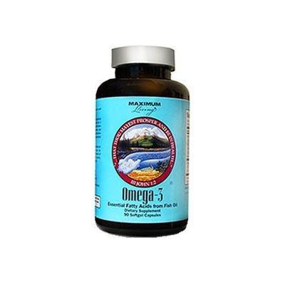 Maximum Living Omega 3 Fish Oil (90 CAP)