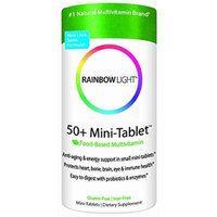 Rainbow Light 50+ Mini-Tablet Multivitamin, 180 Mini-Tablets (180 (Pack of 2))