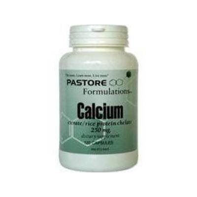 Pastore Formulations - Calcium Citrate 250 mg 120 caps