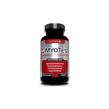 Myotest, Natural Testosterone Enhancer, 120 Capsules, Myopharma