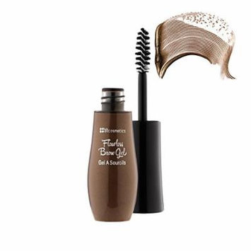 BH Cosmetics Flawless Brow Gel Makeup, Dark Brown