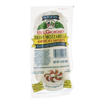 BelGioioso Mozzarella Fresh Slices - 16 CT