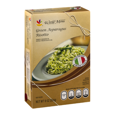 Ahold World Menu Green Asparagus Risotto