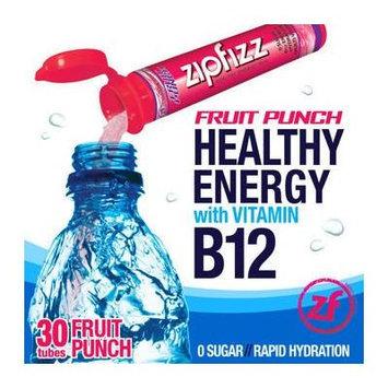Zipfizz Healthy Energy Drink Mix, (Fruit Punch, 30-Count)