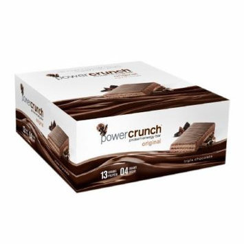 Power Crunch Protein Energy Bar, Triple Chocolate 12 ea