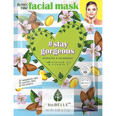 Biobelle Hydrating Almond Oil Sheet mask 3pcs