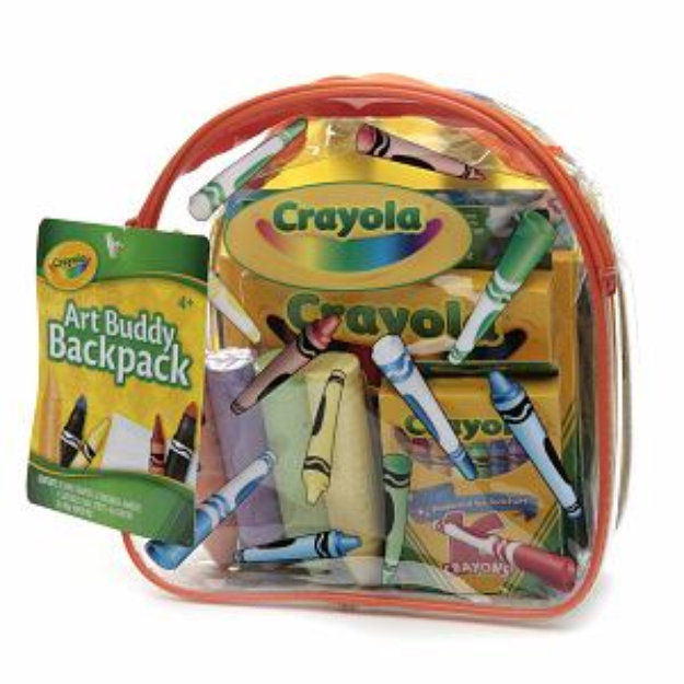 Slide: Crayola Art Buddy Backpack