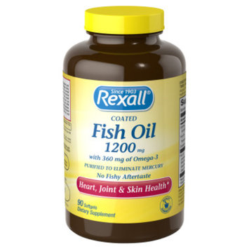 Rexall Fish Oil 1200 mg - Softgels, 90 ct