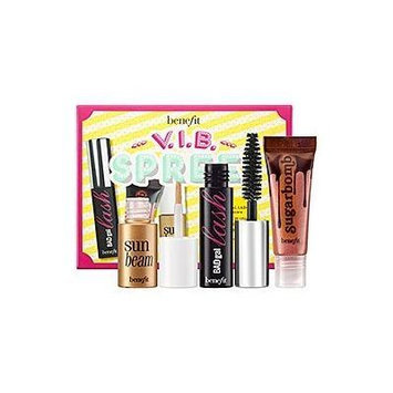 Benefit Cosmetics Sephora VIB Spree Boxed Set of BadGal Mascara, Sun Beam, and Sugarbomb Lip Gloss, all Mini-sized