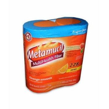 Metamucil Orange Sugar Free Smooth Powder - 228 Doses