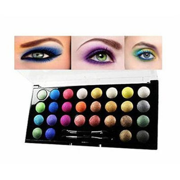 Eye Shadow Cosmetic Makeup 28 Colors High Shimmer Eyeshadow Palette Travel Kit
