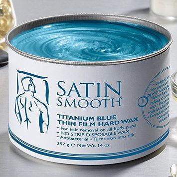 Satin Smooth Titanium Blue Wax