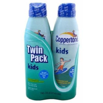 Coppertone Sunscreen Continuous Spray Kids SPF 50 - 2 CT