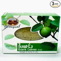 Abhaibhubejhr Soap Skin of Guava Leaves 100g.