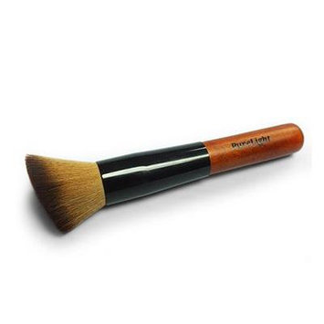 Professional Makeup Brush for Foundation, Mineral Makeup, Blush, and Concealer. Angled Cosmetic Makeup Brush. Superior Quality Synthetic Hair / Vegan Fibers. Aluminum Ferrule and Wooden Handle. Ideal for Home or Travel. Great for the Experienced Makeup...