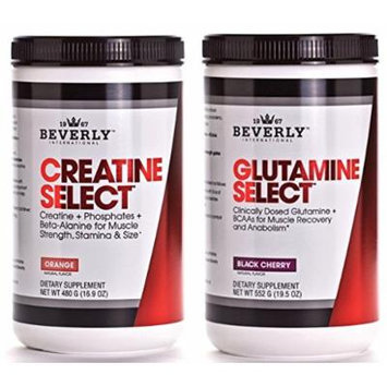 Beverly International Creatine Select & Glutamine Select Mass Recovery Stack 5% OFF