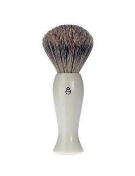 eShave - Long Shave Brush (White Handle)