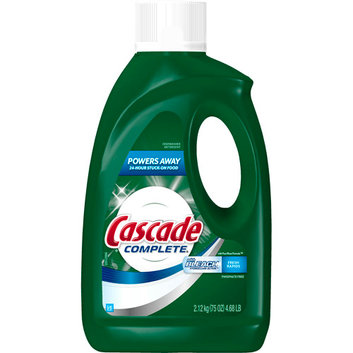 Cascade With Bleach All In 1 Complete Dishwasher Dish Detergent