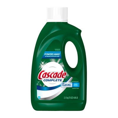 cascade with bleach all in 1 complete dishwasher dish detergent reviews. Black Bedroom Furniture Sets. Home Design Ideas