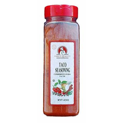 Chef's Quality Taco Seasoning, 16 Oz.