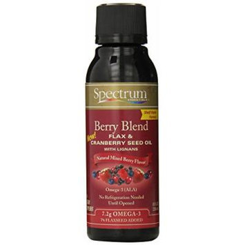 Spectrum Berry Blend Flax and Cranberry Oil, 8 Ounce