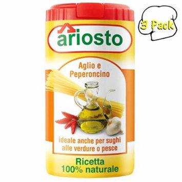 Italian Garlic and Chili Seasoning, 2.8 Ounce Kitchen Size, 3 Per Case
