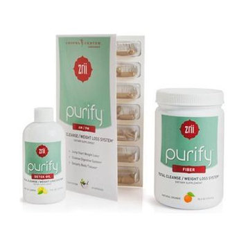 Chopra Center Endorsed: Purify Fiber Total Cleanse/weight Loss System - Natural Orange 10.5oz