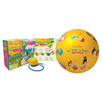 Wai Lana Green Little Yogis Stretch and Play Eco Ball