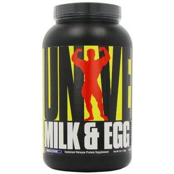 Universal Nutrition System Milk & Egg Protein, Vanilla, 1.5-pound Jar