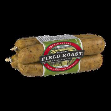 Field Roast Grain Meat Sausages Vegetarian Smoked Apple Sage - 4 CT