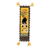 Fat Cat Kitty Hoots Big Mama's Scratchy Box Slim Purple