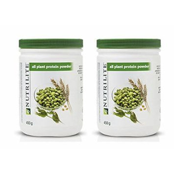 Nutrilite All Plant Protein Powder 450 G. Vegetarian Heart Healthy Protein Powder Supports Energy Muscles Immunity By Siamproviding