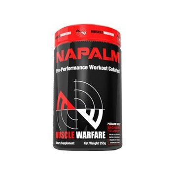 Muscle Warfare Napalm Lemon Lime 45/Serv 243g New
