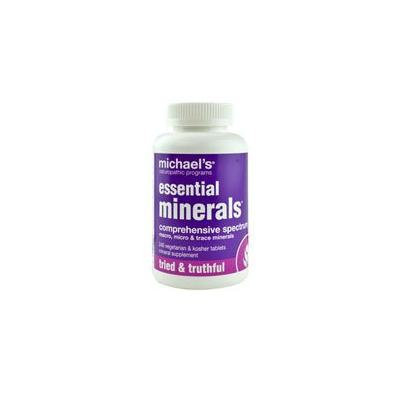 Michael's Naturopathic Programs Essential Minerals -- 240 Vegetarian & Kosher Tablets